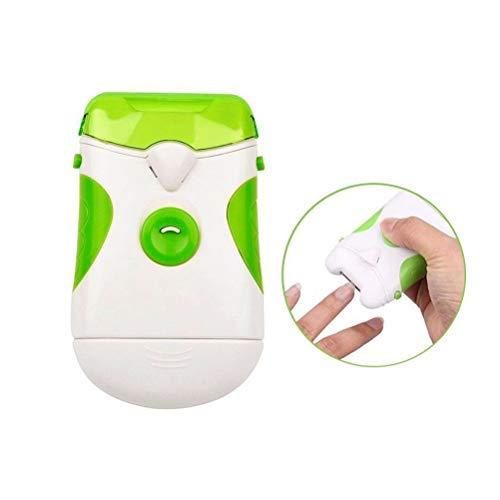 Hanwuo Elektrischer Nagelschneider, mit Nagelfeile, elektrisches Maniküre-/Pediküre-Werkzeug