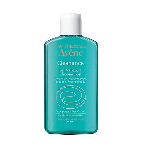 Avene Cleanance Gel Limpiador Facial sin Jabón, 200 ml