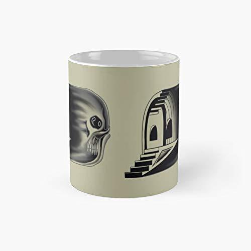 Skull Case Classic Mug Best Gift Funny Coffee Mugs 11 Oz