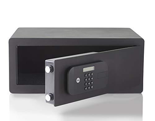 Yale YSEB/200/EB1 - Caja Fuerte motorizada de Alta Seguridad, Laptop, Negro