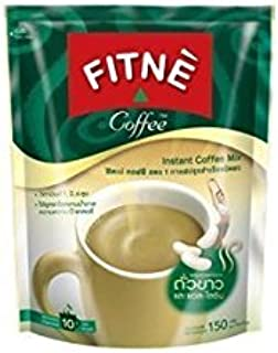 Fitne White Kidney Bean Lysine Slimming 3 in 1 Instant Coffee Mix (Pack of 10 sachets) ( by gole ) Hot Items