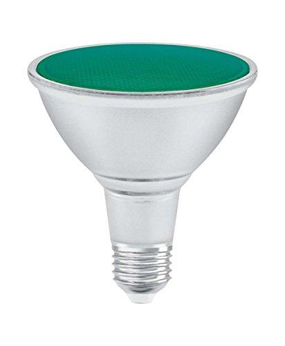 Osram LED Parathom PAR38 Reflektorlampe, Sockel: E27, Grün, 13 W