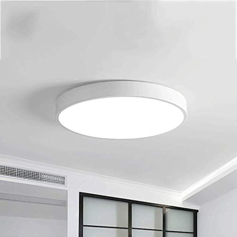 Ultra-dünne LED Deckenleuchte Runde Schlafzimmer Lampe einfache moderne Wohnzimmer Zimmer Gang Flur Beleuchtung, super helle Energieeinsparung (ausgabe   Remote control-30CM)