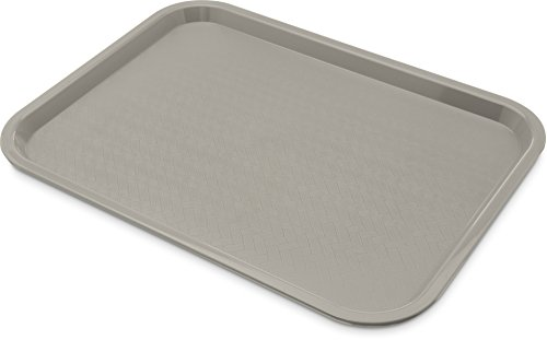 Carlisle CT121623 Café Standard Cafeteria / Fast Food Tray, 12' x 16', Gray