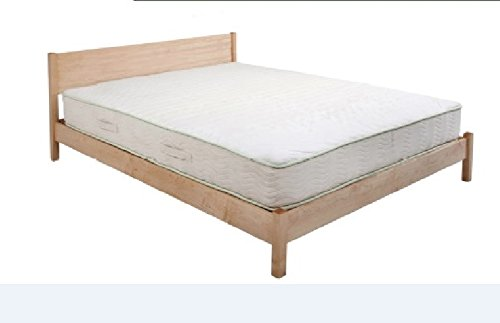 Purchase Ultimate Sleep New Cheyenne Handcrafted Elegant Hard Bed Frame Available in Solid Natural H...