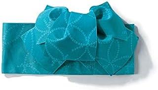 [nissen(ニッセン)] バスローブ 大きいサイズ 浴衣・甚平 1人で簡単につけられる作り帯