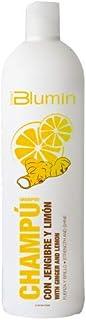 Blumin Urban Champú de Jengibre y Limón Aporta Fuerza y Brillo Acelera el Crecimiento del Pelo para Cabellos Todo Tipo de ...