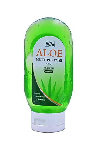 VISJA Ayurvedic Aloe Multipurpose Gel For Men/Women /Best Aloe Vera Gel for Face ,Hair & Body (80G))