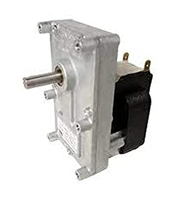 Pellet Stove Auger Gear Motor, 2 RPM, 120V, 1.48 amps (Whitfield Quest, Merkle-Korff, Earth stove) by Rotom by famous Rotom