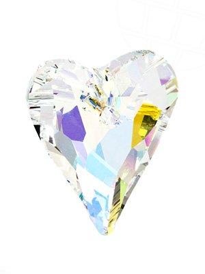 Anhänger von Swarovski Elements 'Wild Heart' 27.0mm (Crystal-AB), 1 Stück