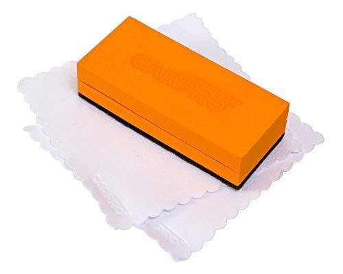 CarPro Ceramic Coating Applicator with 3 Microfiber Towels (3.5' Kit)