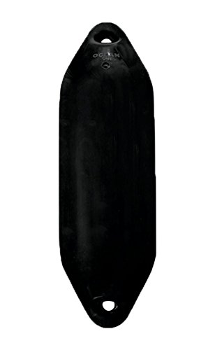 Ocean Fender U-Serie Utility, Farbe:schwarz, Typ:U0 - ( Ø 10 x L 33 cm )