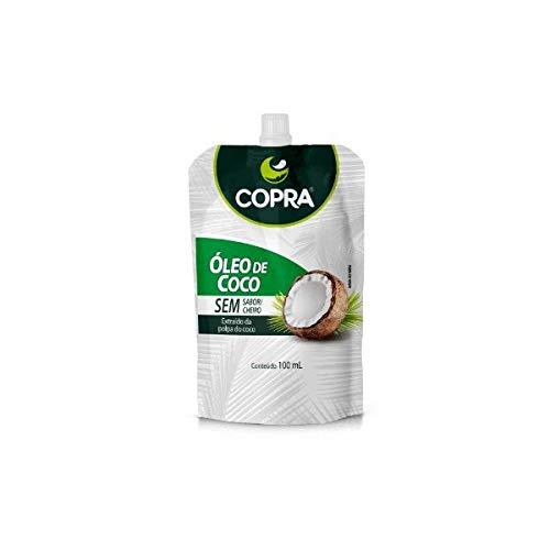 Óleo de Coco Sem Sabor 100ml pouch - Copra