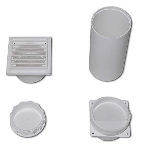 Remko Wanddurchführung (für die Klimageräte RKL 300 / RKL 360, einfache Montage, Schutzgitter) 1613118[Energieklasse A+++]