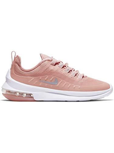 Nike Air MAX Axis Premium, Zapatillas de Atletismo para Mujer, Multicolor (Coral Stardust/Metallic Silver/White 601), 41 EU