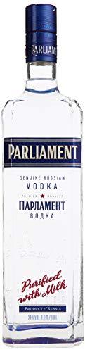 Parliament Vodka - 38% Vodka (1 x 1,0l) - Milchgereinigter Premium-Vodka aus Russlands Hauptstadt Moskau