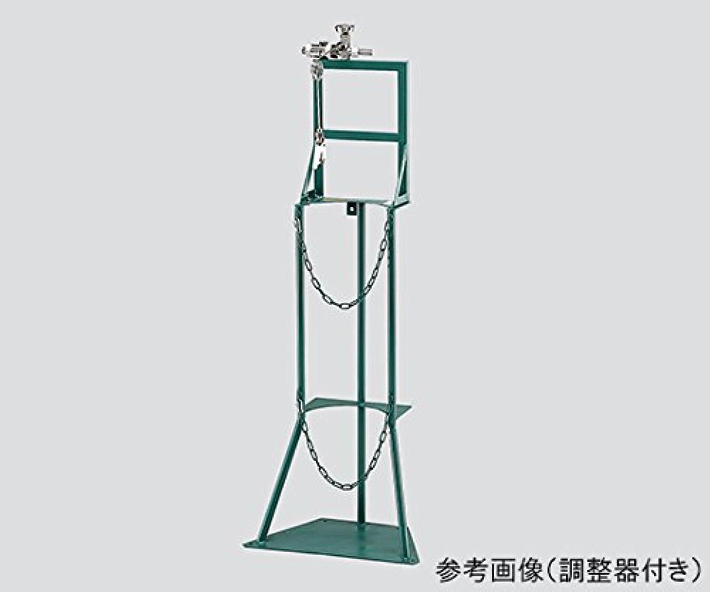 エスニック優しい以降カミマル3-6828-02簡易集合機器関西式酸素調整器付き架数1本
