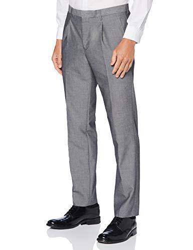 Amazon-Marke: find. Herren Slim Fit-Hosen, Grau, 38W / 33L, Label: 38W / 33L