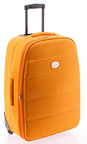 Maleta mediana 60 cm, Roma de John Travel (Naranja)