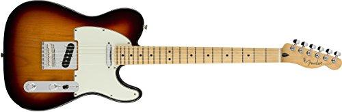 Fender エレキギター Player Telecaster®, Maple Fingerboard, 3-Color Sunburst