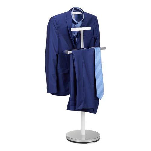 Relaxdays dressoir, kledingstandaard van metaal, vrijstaand, kledingbutler, h x b x d: ca. 112 x 47 x 30 cm