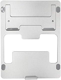 MIAO Soporte de computadora portátil de aleación de Aluminio Soporte para computadora portátil Estante de computadora Plegable Refrigeración Base de radiador de Escritorio para Oficina