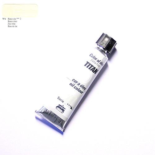 ÓLEO BLANCO ZINC TITAN Extrafino 10 - 60ml. Nº 6