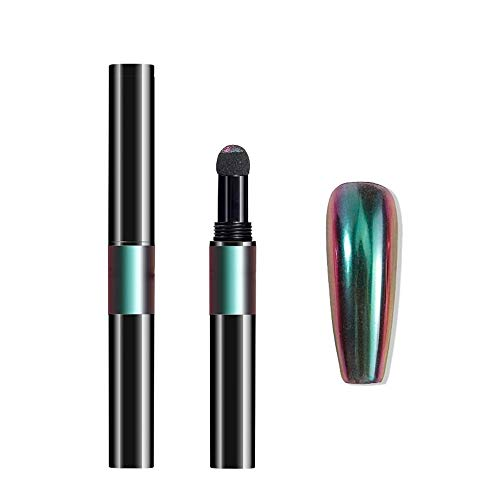Nailart Puder - Pigment Pen - Chrome - Flip Flop - 1010-HY05