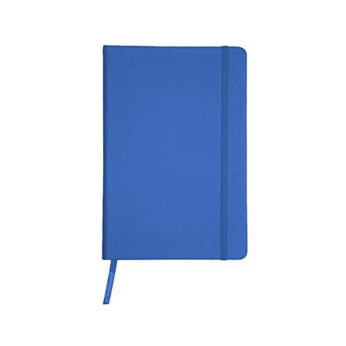 Projects taccuino 'Business' in formato DIN A5 - a righe ecologiche 80 G/M2 carta FSC 192 pagine, copertina rigida con rivestimento Soft Touch in PU & segnalibro & nastro di chiusura