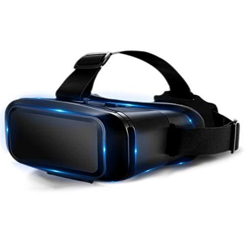 LAHappy 3D VR Brille Virtuelle Realität Headset Geeignet 4,7-6,9 Zoll Smartphone Handy, Video Movie Game Brille für 3D Film und Spiele