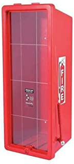 Fire Extinguisher Cabinet, PS, Red