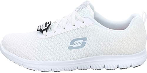 Skechers Damen Ghenter Bronaugh Sneaker, Weiß, 41 EU