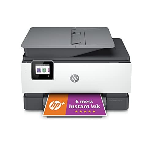 Stampante Multifunzione HP OfficeJet Pro 9010e - 6 mesi di inchiostro inclusi con HP+