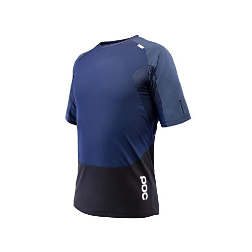 POC Resistance Pro DH Camiseta Ciclismo, Hombre, Azul (Boron Blue), S