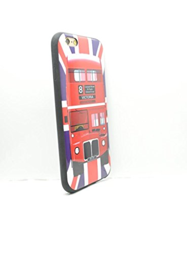 OLIVIASPHONES Iphone 6 - Union Jack Red London Bus slim...