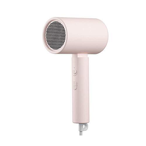 HNLSKJ Secador de Pelo de Las Mujeres con Power Dry Cool Shot Y for Shine a encrespar, Secado rápido Uso de Inicio, Peluquería, Viajes, Pink ggsm (Color : Pink)