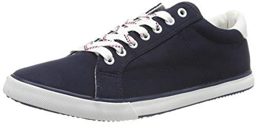 TOM TAILOR Herren 695100530 Sneaker, Blau (Navy 00003), 43 EU