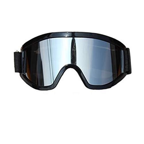 QSCTYG Hombres Mujeres Ski Goggles Scooter Casco Eyewear Velar Tintado Off Road Motocross Gafas Films Gafas de Moto 266 (Color : 1)