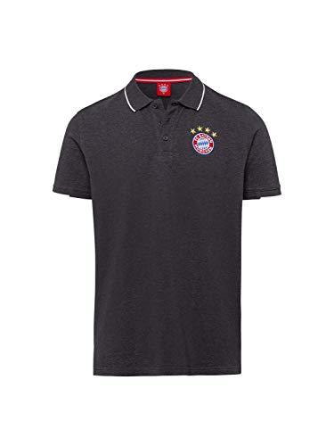 FC Bayern München Poloshirt Classic anthrazit, L