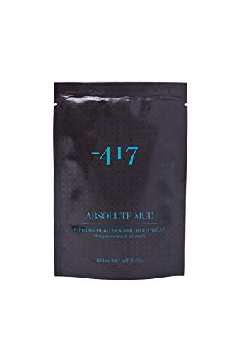 -417 Body Wrap Pure Dead Sea Black Mud Cosmetics Catharsis Mask - Beauty Body Care Wraps For Cellulite, Stretch Marks, Detoxify Your Skin Absolute Mud Collection