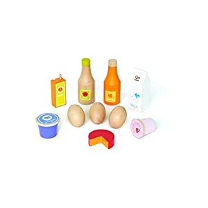 hape healthy basics kid's wooden play kitchen accessories food set - 316x2qsfGVL - Hape Healthy Basics Kid's Wooden Play Kitchen Accessories Food Set