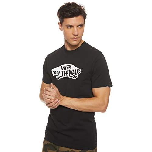 Vans Herren Vjayy28 T-Shirt, Schwarz (BLACK-WHITE Y28), Medium