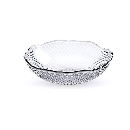 Omenluck 1Pc Fruit Bowl Plastic Candy Tray Diamond Pattern Dried Fruits Trays Plate Fruit Plate Household