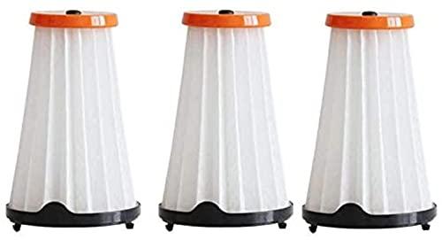 Accesorios de repuesto para limpiafondos Paquete de 3 filtros de vacío aptos para aspiradoras Electrolux Rapido y Ergorapido Comparar AEF144 EF144 ZB3003 ZB3013 (Color: Blanco) Piezas de repuesto