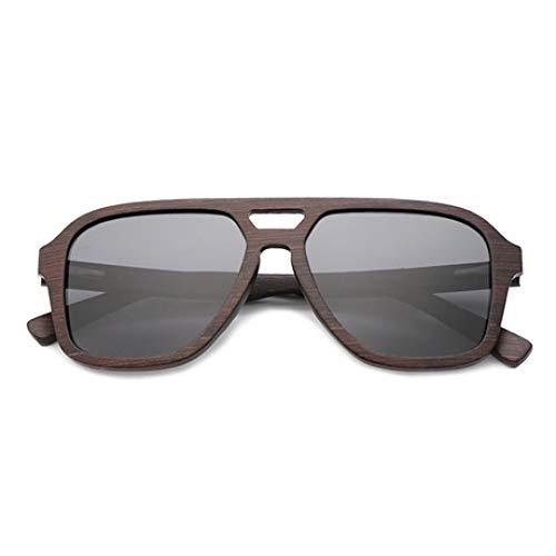 PZXY Holz Sonnenbrillen Personality Outdoor Polarized UV-Schutzbrillen für Männer und Fraue