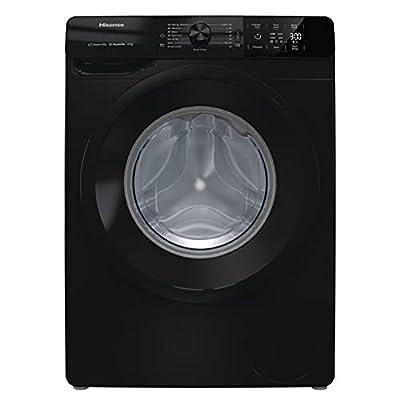 Hisense Freestanding Front Loading 1400RPM Washing Machine - 2 Year Guarantee (8KG, Black)
