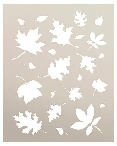 Ernte-Schablone – Herbstblätter – 21 x 27,9 cm – STCL114_1