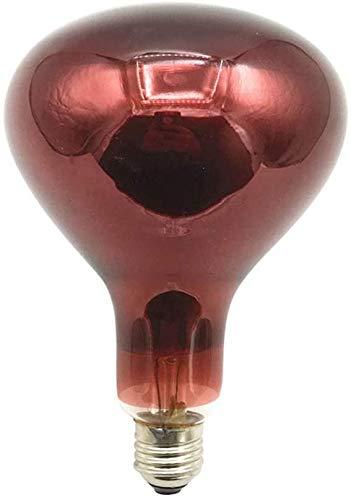 Bulbos de infrarrojos infrarrojos lámpara de calentamiento infrarrojos de infrarrojos de infrarrojos de infrarrojos de infrarrojos E27 bombilla de cocción 150W 250W 275W bombilla de calentamiento,275w