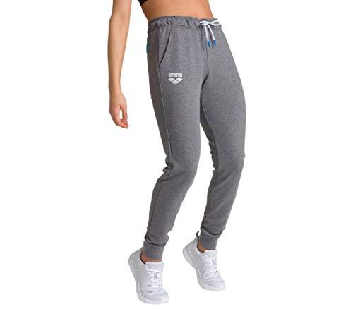 Arena Fleece - Pantalones de chándal para Mujer, Mujer, Pantalones de Correr, 003779, Gris Oscuro, Extra-Small