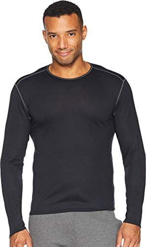 Hot Chillys Pepper Skins Crew Neck Black LG